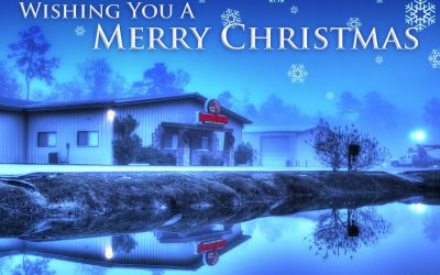 Merry Christmas & Happy Holidays from Bakers' Signs